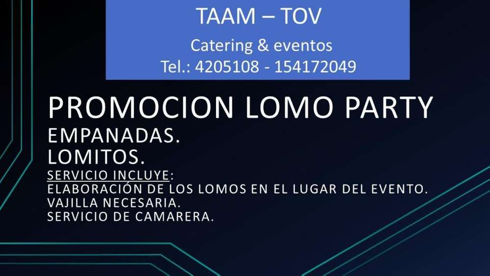 PROMOCION LOMO PARTY