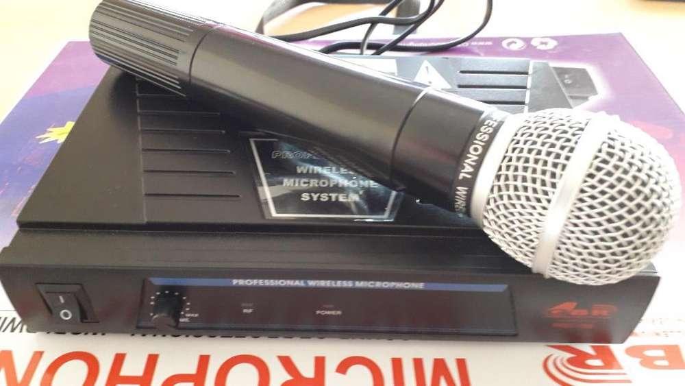 Micrófono Inalámbrico Gbr Pro158