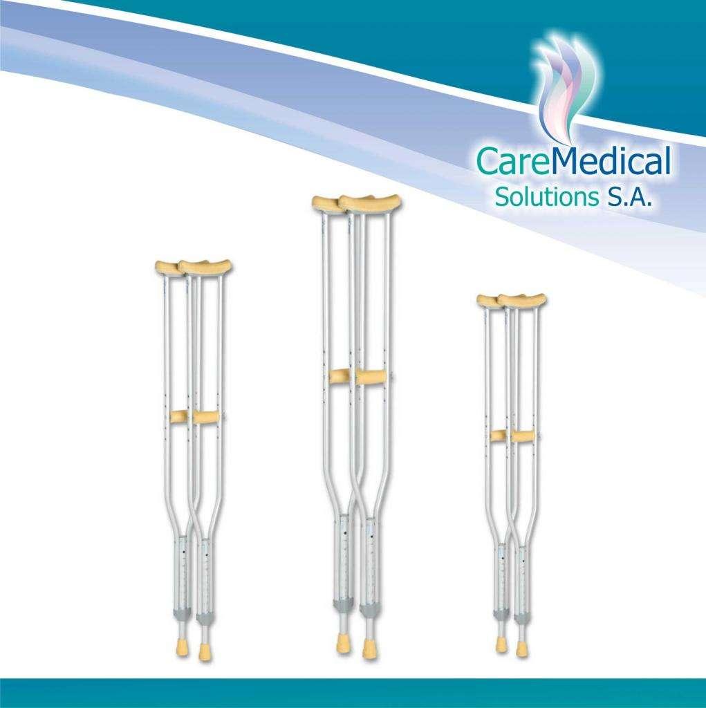 Alquiler de Muletas Mensual - Ortopedia Care Medical