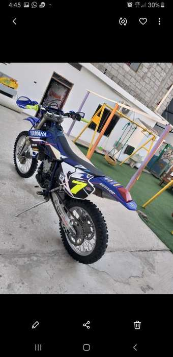 <strong>yamaha</strong> Wr450f Año 2006 Bien Conservada