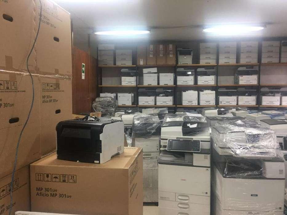gran venta de fotocopiadora en bodega de todas las marca.