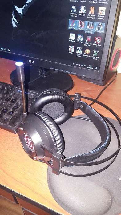 Headset Audifonos Gamer Sonido 7.1