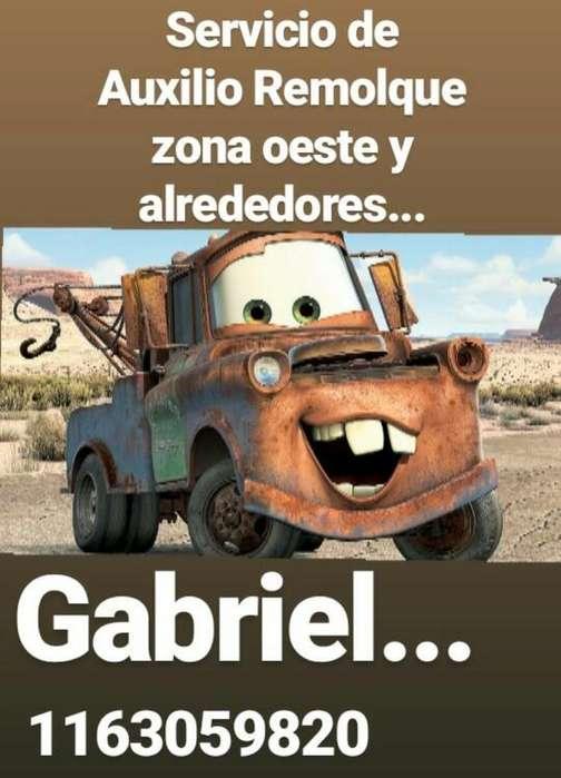 Auxilio Remolques Gabriel!!puntualidad