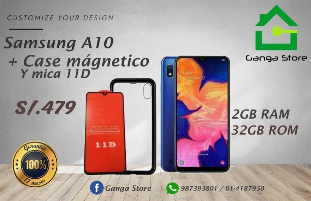 Samsung A10 Nuevo Garantía Tienda
