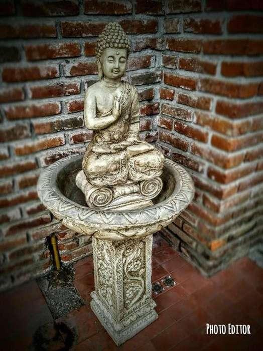 fuentes estatuas decoracion