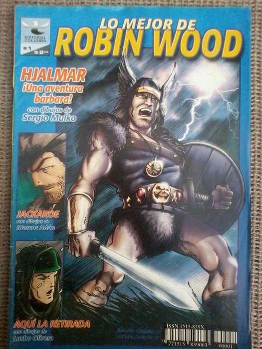 historieta robin wood comics