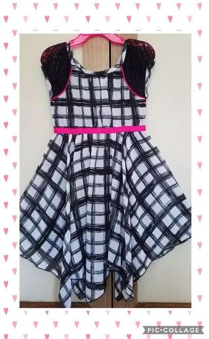 Vestido Elegante o Formal Para Niña Talla 5t Ropa Americana