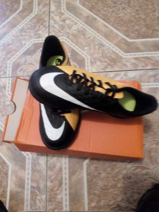 Hermosos Nike Sintetica Talla 36