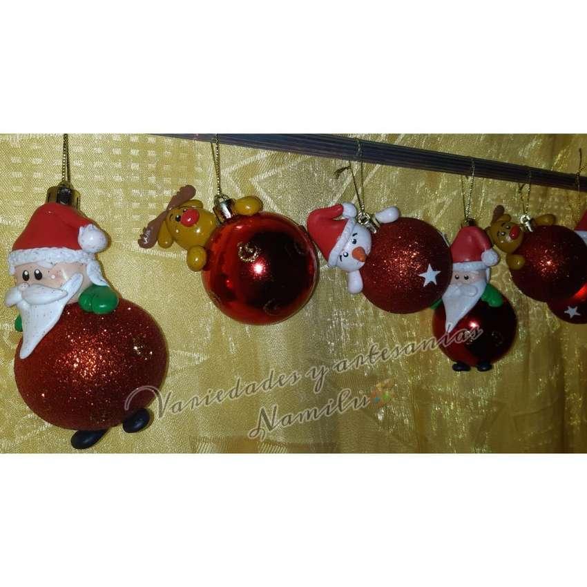 Esferas Navideñas Decoradas Decoración 1066949815