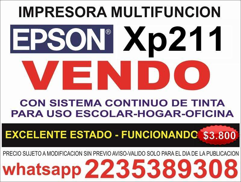 vendo impresora epson XP211OUTLET