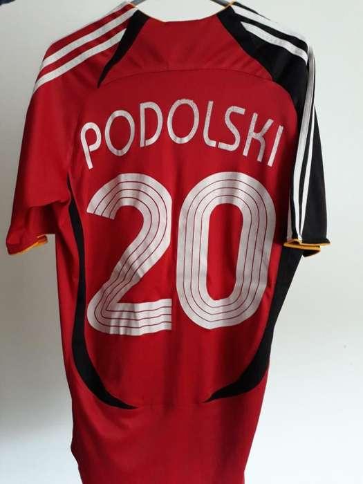 Camiseta de Alemania Lukas Podolski