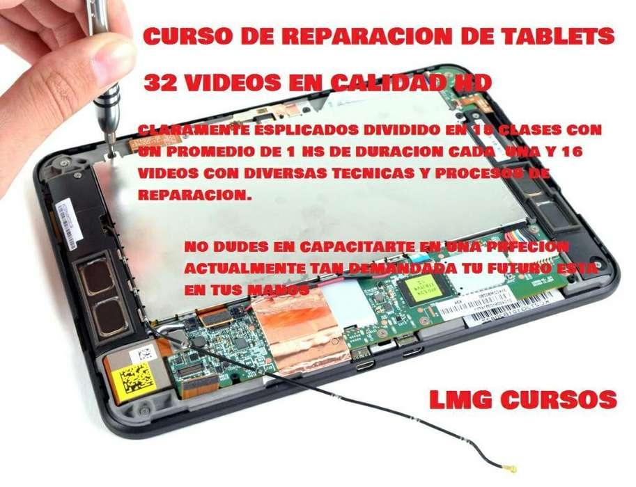Curso de Reparacion de Tablet 32 Videos