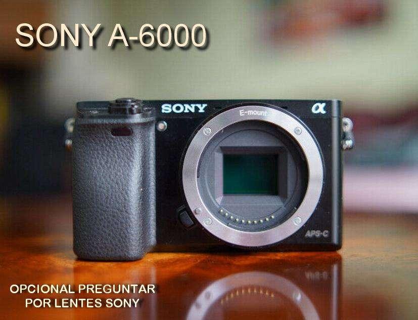 NUEVA !!! Cuerpo Cámara Sony A6000 Mirrorless Protector Silicona