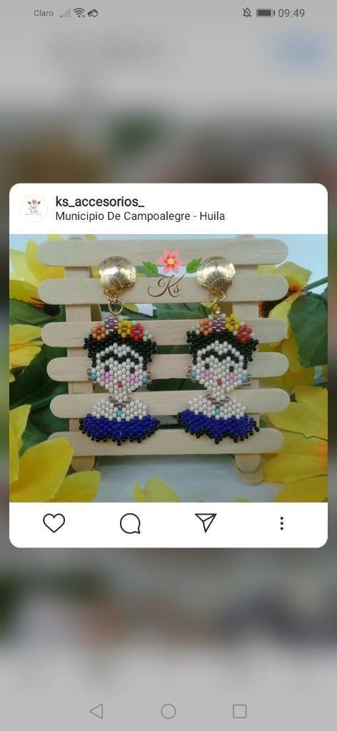 Aretes de La Frida