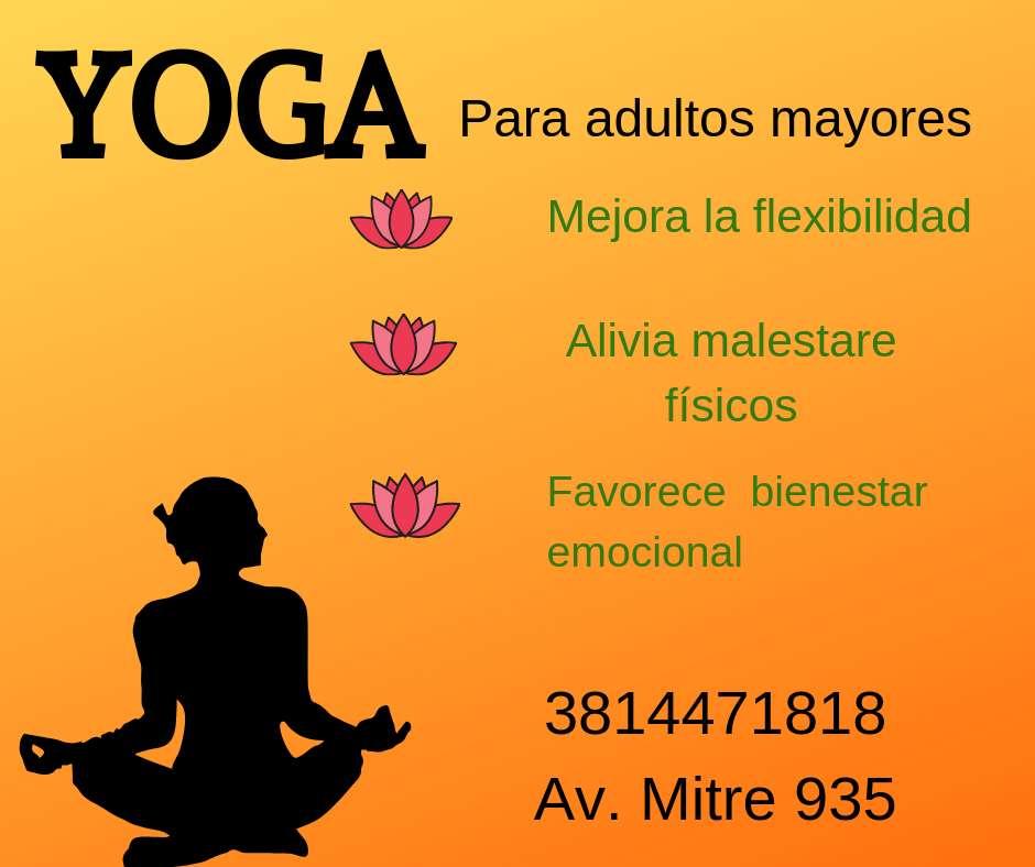 Yoga- Adultos Mayores