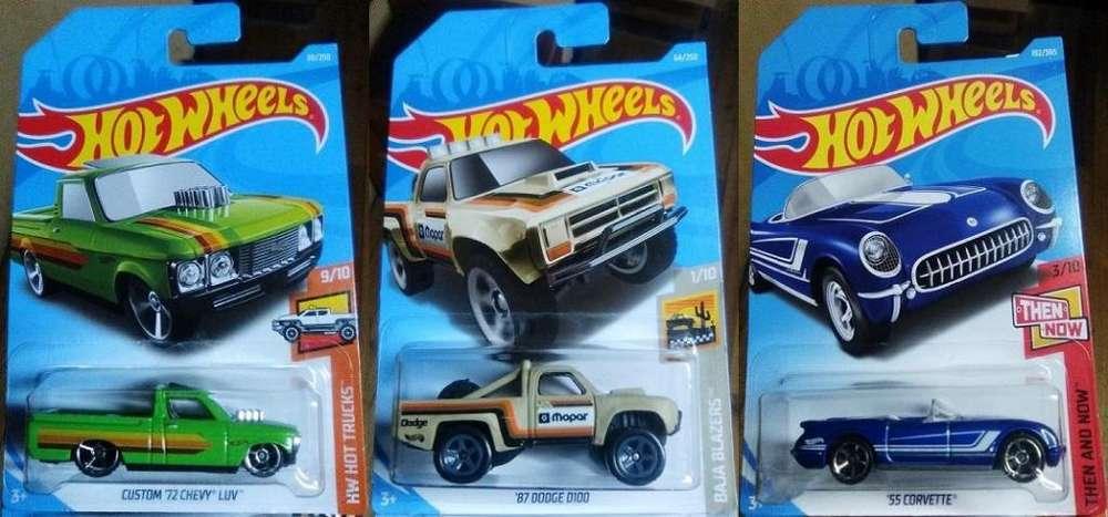 Hot Wheels los 3x10 Dólares