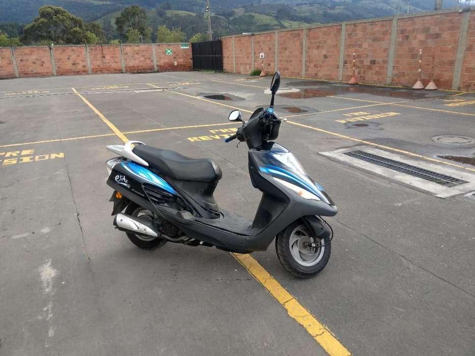Se Vende Moto Honda Elite Mod 2011
