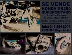 HONDA XR 250 GANGA SUPERMOTARD