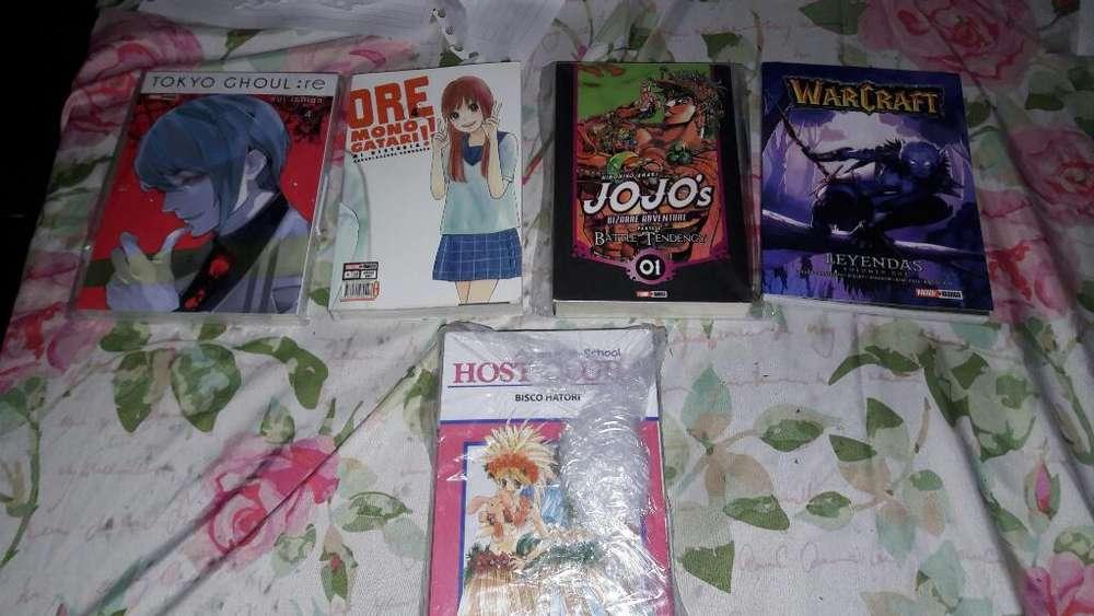 Libros Manga Nuevos