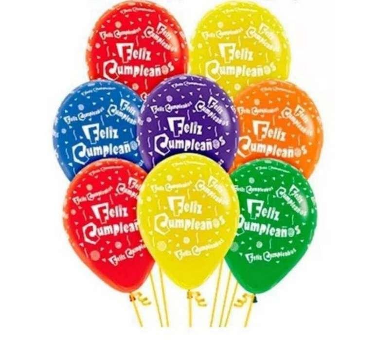 Bomba Feliz Cumpleaños R12 Colores X100