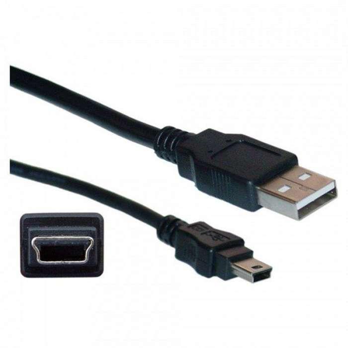 Cable De Carga Usb A Mini Usb Celular <strong>gps</strong> Camara 68cms