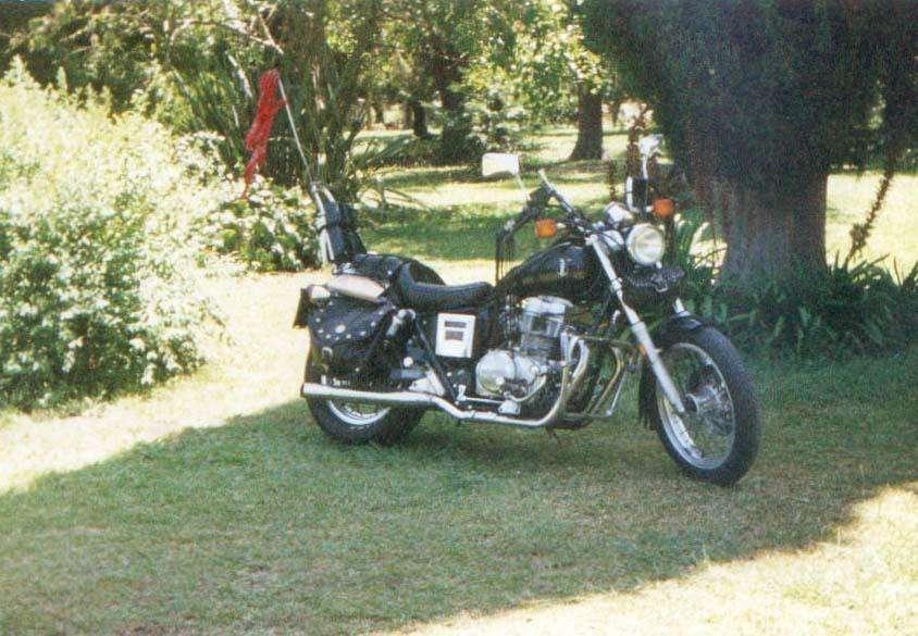 Moto HONDA 'REBEL' 450 modelo '86