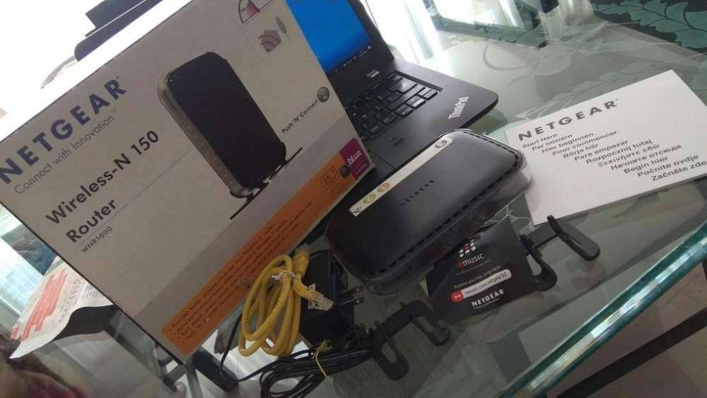 SE VENDE ROUTER INHALAMBRICO MARCA NETGEAR