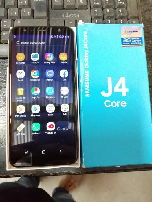 Ganga Como Nuevo Samsung J4 Core Dorado