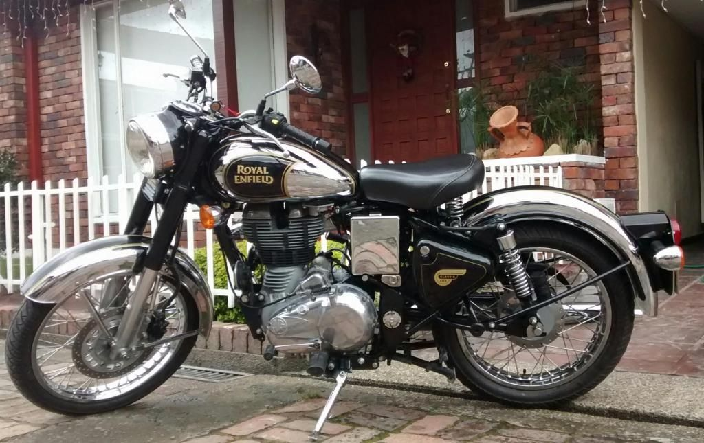 Moto Royal Enfield Classica 2015