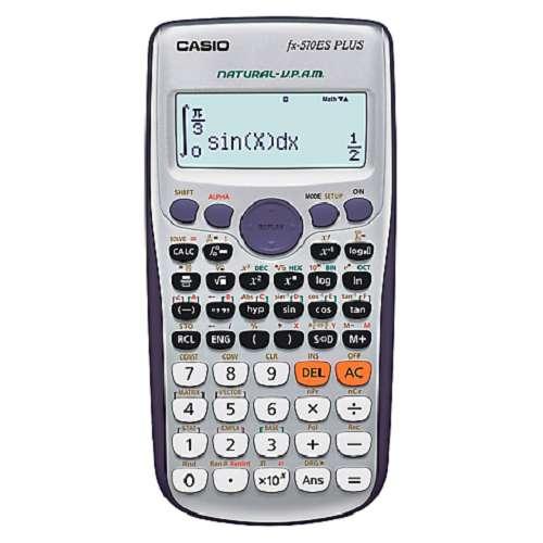 Calculadora Cientifica Calculadoras Para Ingenieros Fx-570es