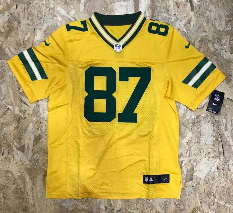 Camisa Malla Jersey Futbol American Nfl Green Bay Packers
