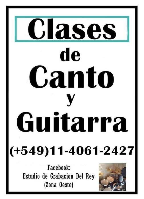 CLASES DE CANTO Y GUITARRA EN ZONA OESTE TECNICA ABSOLUTA 5491140612427