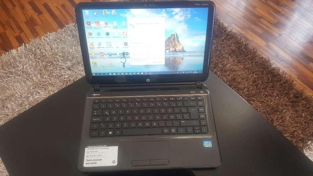 Laptop Hp Pantalla Táctil Como Nueva