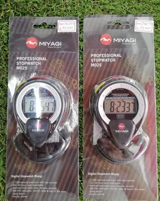 Cronómetro Professional Miyagi