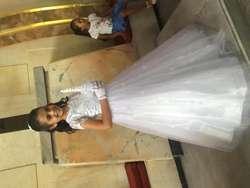 Vestido de primera comunin