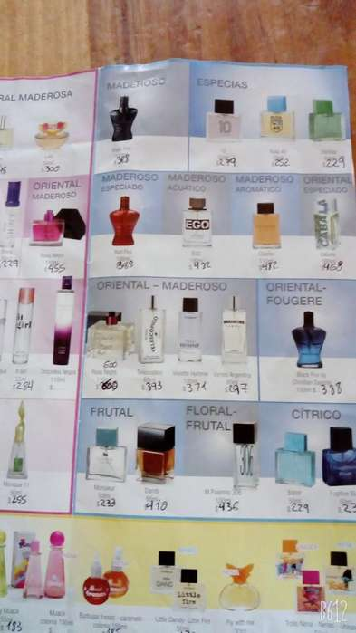 Vendo Perfumes de Monique
