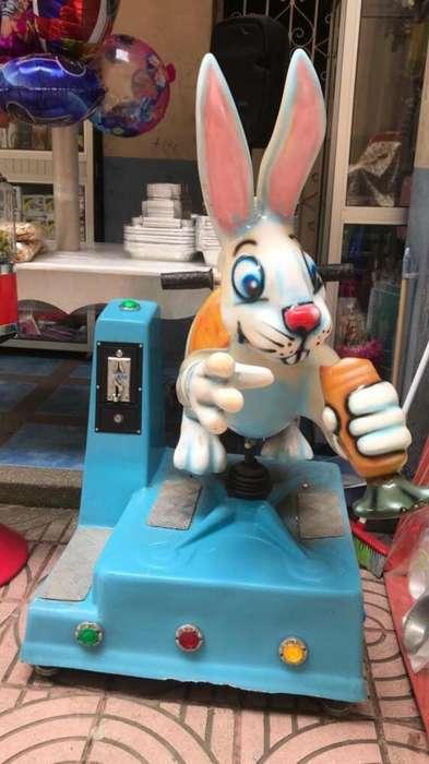 Maquina Infantil - Conejo