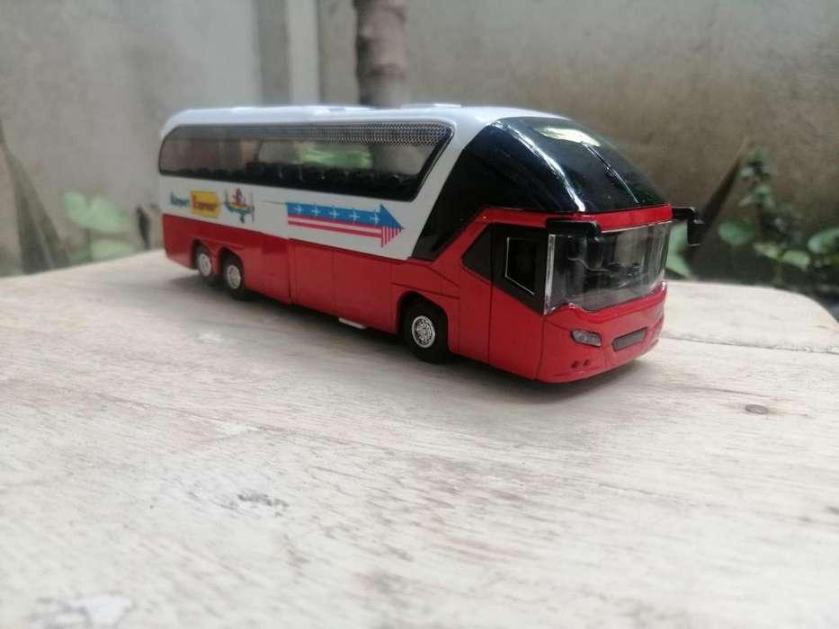 Carro A Escala Bus De Viajes 1:60