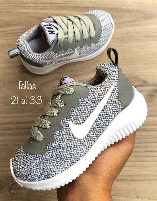 Tenis Nike para Niños desde 21 a 33