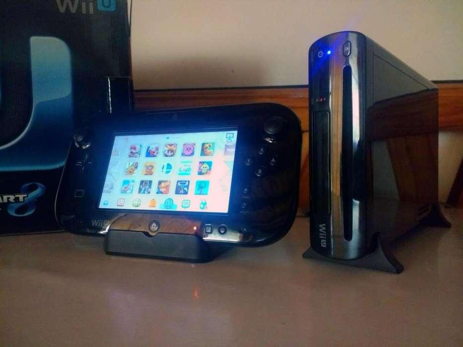 Vendo o Permuto Wii U flasheada con Disco Duro (Excelente Estado)