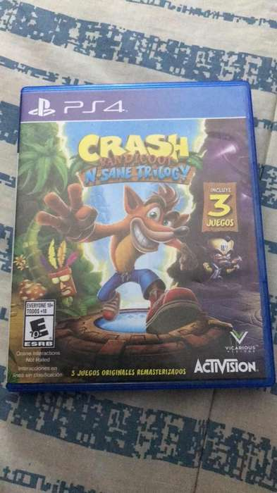 Videojuego Ps4 Crash Bandicoot Trilogia