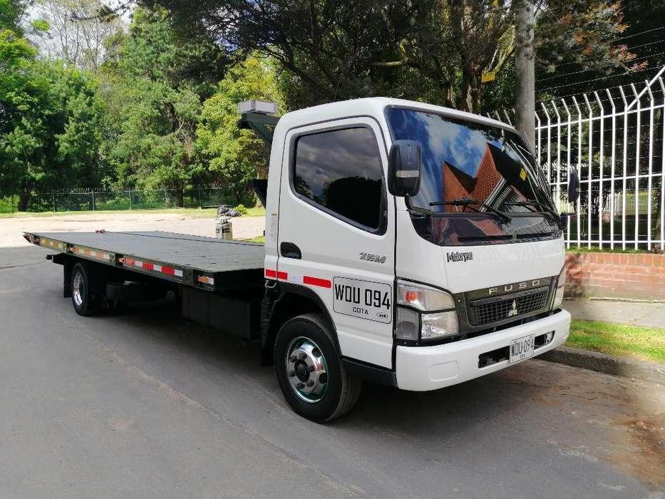 Grua Mitsubishi Canter 7.5