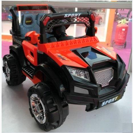 Elegante Carro  Jeep Electrico  De Dos Asientos  Con Bateria Para Niños