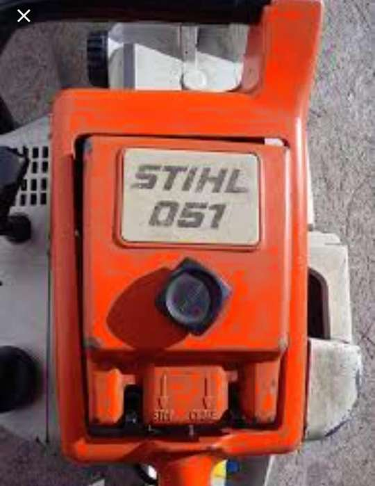 Vendo Motosierra Stihl 051 Usada