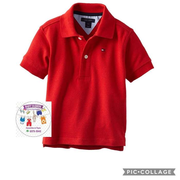 Sueter Tommy Hilfiger Tipo Polo