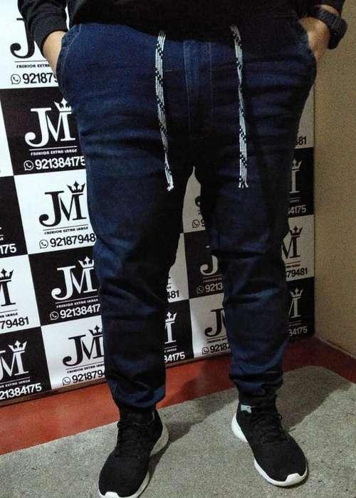 Joggers Jeans Talla 2xl Xxl 40 42 44