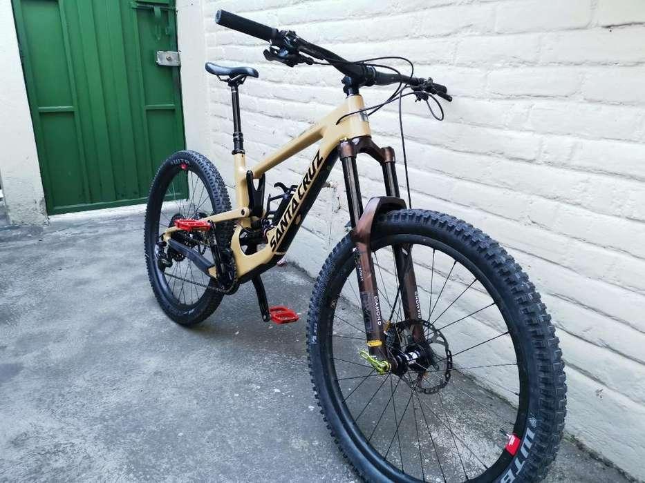 Bicicleta Santa Cruz Nomad V4 C 2018