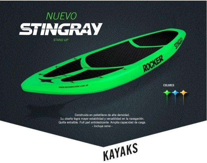 Tabla Stingray Stand up Kayak Rocker PEDERNERA 696 3876057829