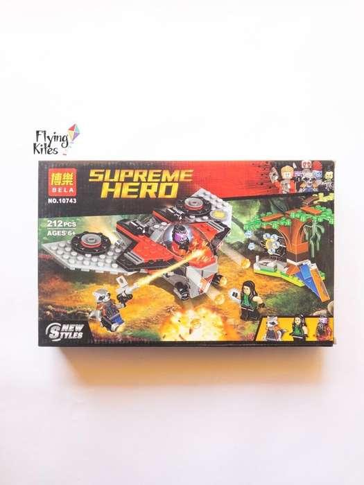 Heroes Simil Lego