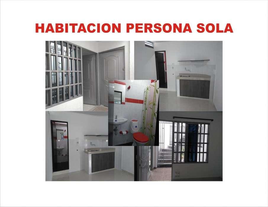 ARRIENDO HABITACION INDEPENDIENTE PARA PERSONA SOLA